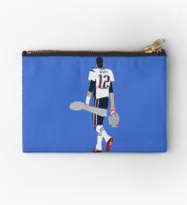 Tom Brady Walk Off With Lombardi Trophy Zipper Pouch