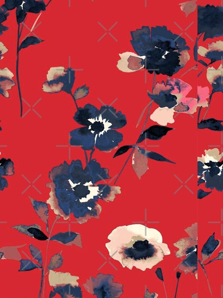 Ikebana Blumenmuster - Iphone & Galaxy Cases von wildberriesph