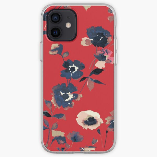 Ikebana Flower Pattern - Iphone & Galaxy Cases iPhone Soft Case