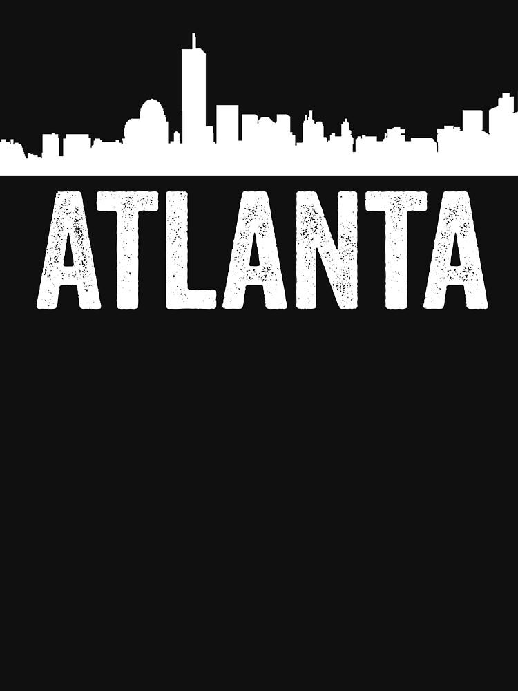 cityscape outline - atlanta by TrendJunky