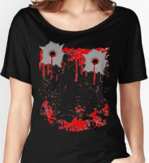Smile Bullet Gore  Women's Relaxed Fit T-Shirt