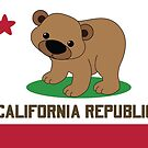 California Flag by mstiv