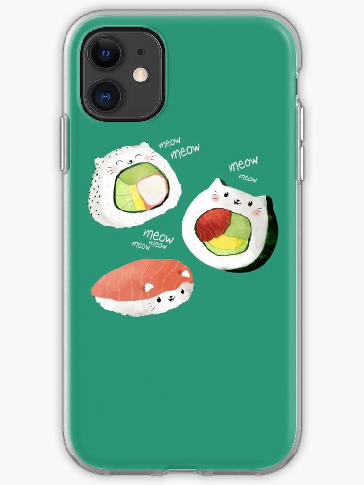 Sushi iPhone 11 case