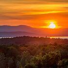 Vermont Sunset by barkeypf