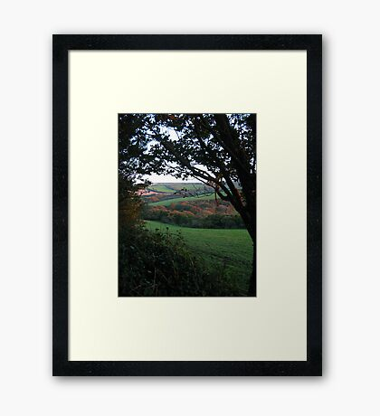 WINDOW PLACE Framed Print