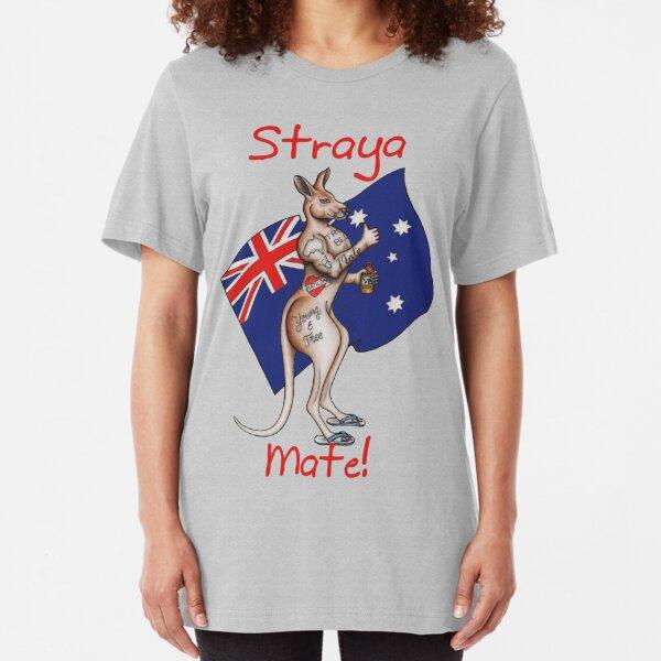 Ultimate Straya / Australia Design Mate!  Slim Fit T-Shirt