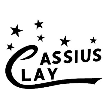 Cassius Clay (Black) by MillSociety