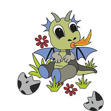 Little Dragon by mitalim