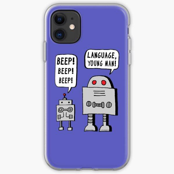 Beeping Robot iPhone Soft Case