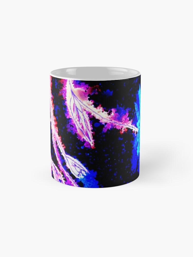 Alternate view of Pink and Blue Splash Mug