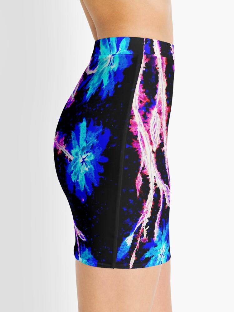 Alternate view of Pink and Blue Splash Mini Skirt