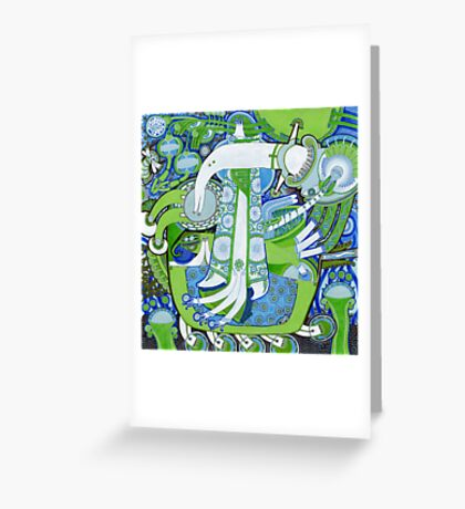 Nothing will die, all things will change Greeting Card