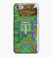 The Legend of Zelda: A Link to the Past Map iPhone Case/Skin