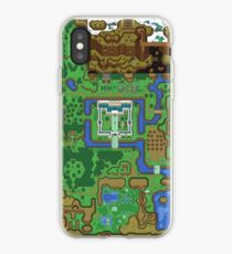The Legend of Zelda: A Link to the Past Map iPhone Case
