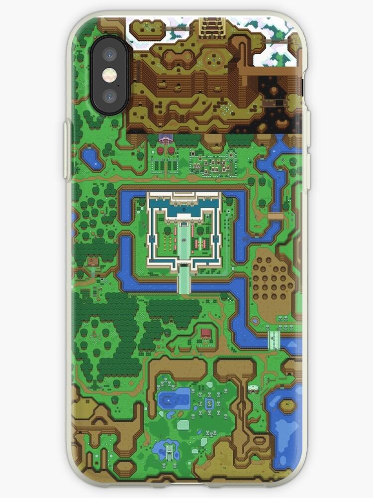 «La leyenda de Zelda: un enlace al pasado Mapa» de navigata