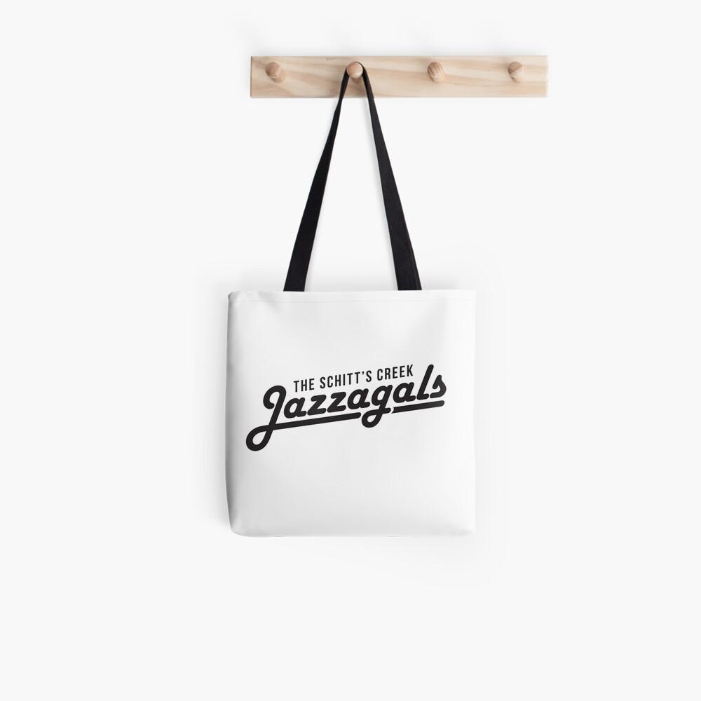 The Schitt's Creek Jazzagals - black type Tote Bag