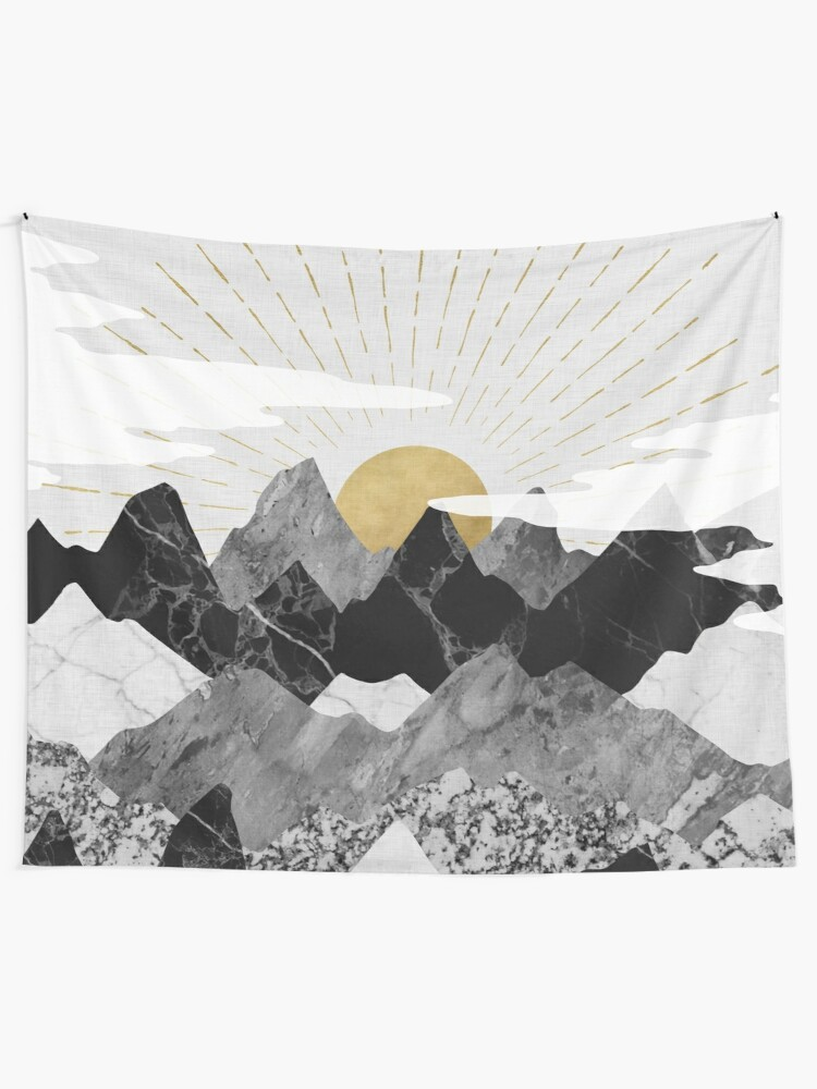 Alternate view of Sun Rise Tapestry