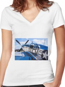 Ride Of A Lifetime Women's Fitted V-Neck T-Shirt