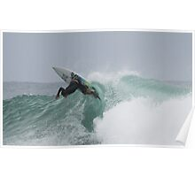 Surfing at Snapper Poster
