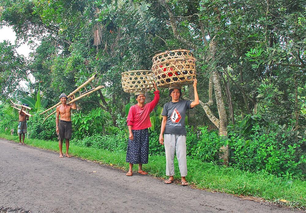 People of Bali by Adri  Padmos