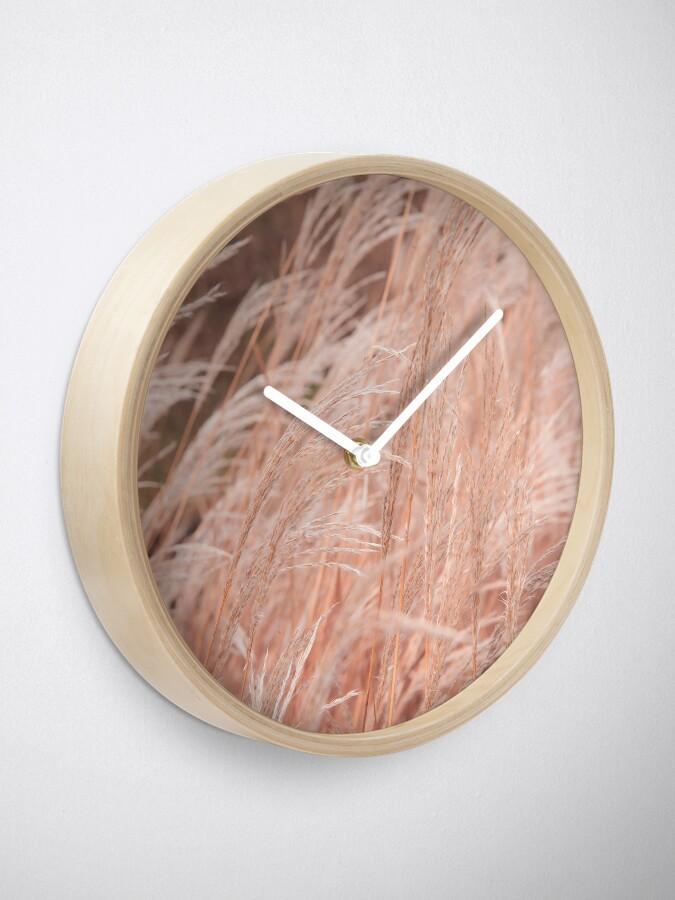 Alternate view of Autumn Grass Clock
