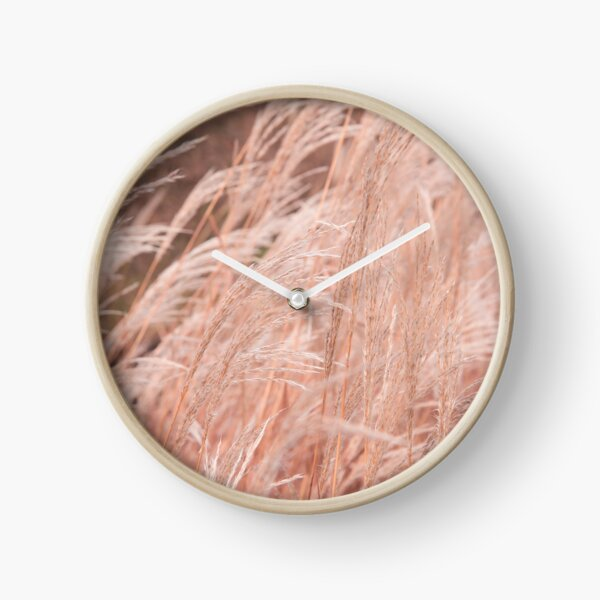 Autumn Grass Clock