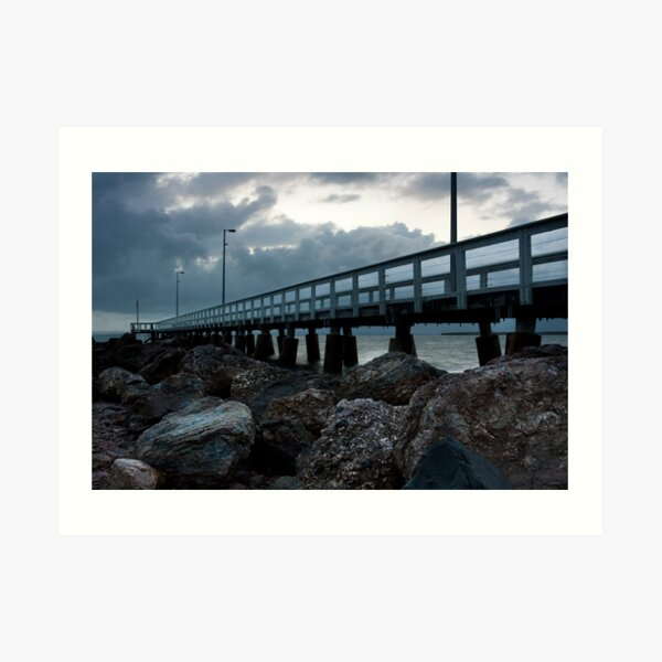 Wellington Point Pier Art Print