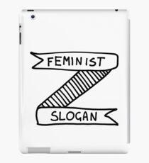Feminist Slogan iPad Case/Skin