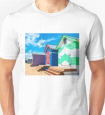 Bathing houses Unisex T-Shirt
