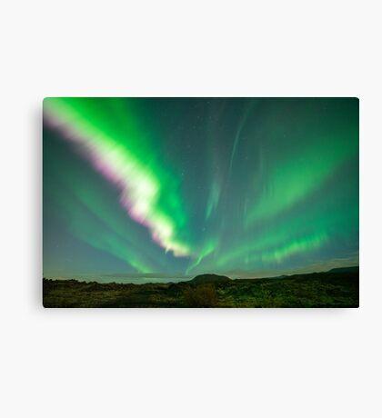 Northern Light - Iceland Canvas Print