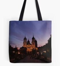 True religion is real living; living with all one's soul, with all one's goodness and righteousness. Tote Bag