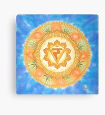 Manipura - the solar plexus chakra Canvas Print
