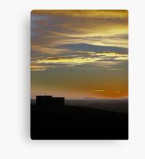 Highclere Sunset  Canvas Print