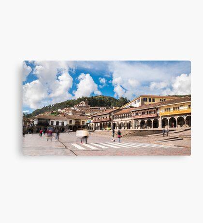Cusco- Peru Canvas Print