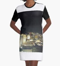 #AtlanticCity #Architecture #city #cityscape dusk skyscraper sky outdoors river sunset color image downtown district Graphic T-Shirt Dress