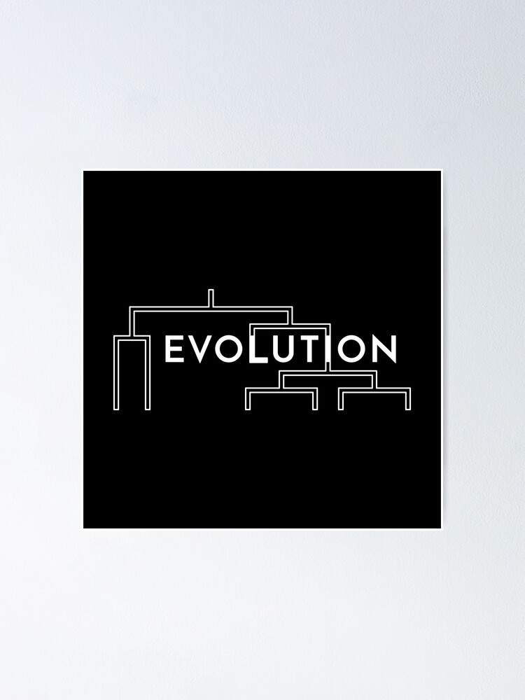 Alternate view of Evolution Poster