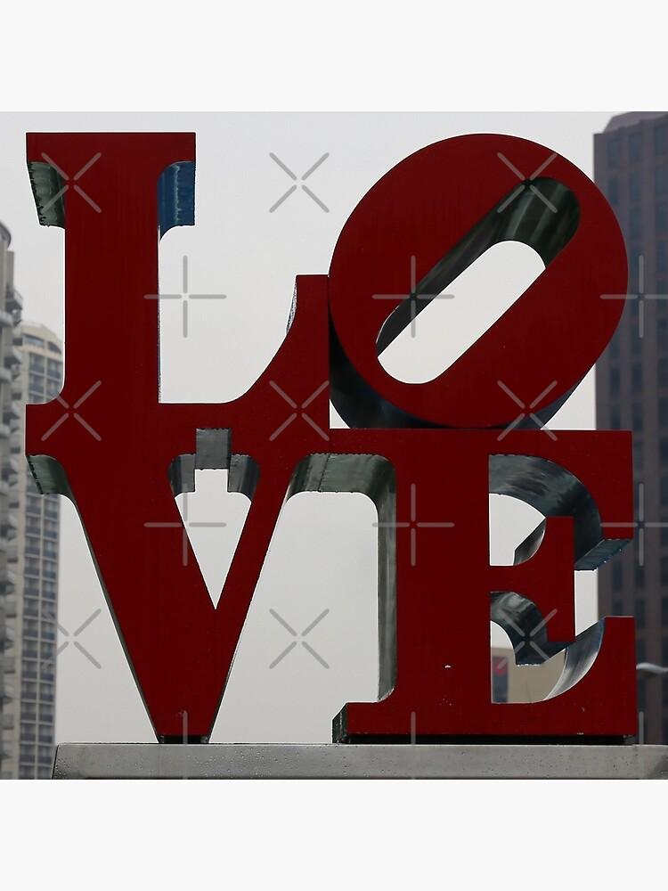 Love Philadelphia Sculpture by stine1
