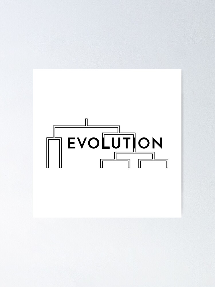 Alternate view of Evolution (Inverted) Poster