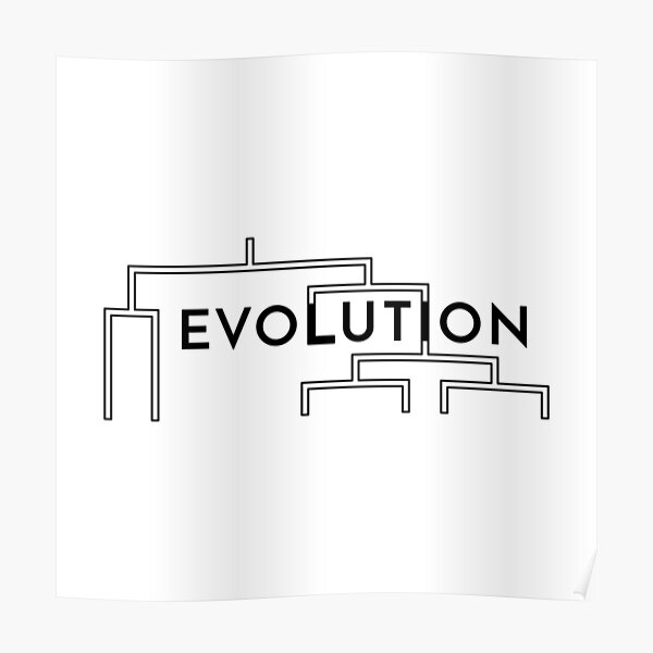 Evolution (Inverted) Poster