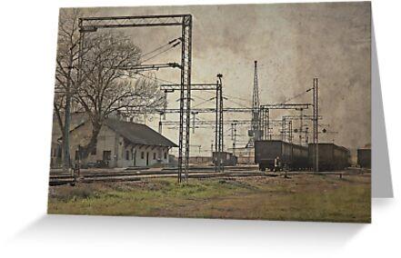 Train station by Milos Markovic