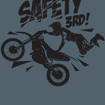 Cool Motorbike Safety 3rd Art - Get Your 1st Present! by NBRetail