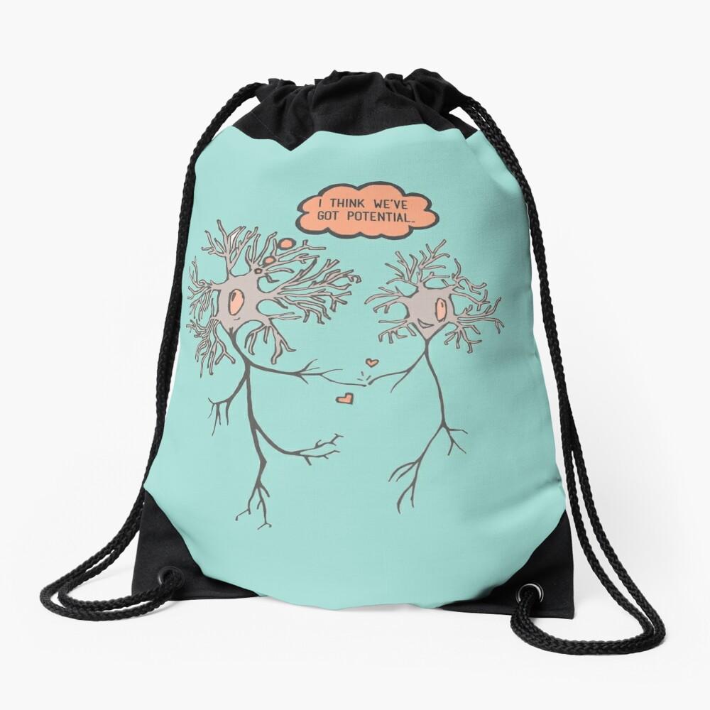 I Think We've Got Potential Drawstring Bag