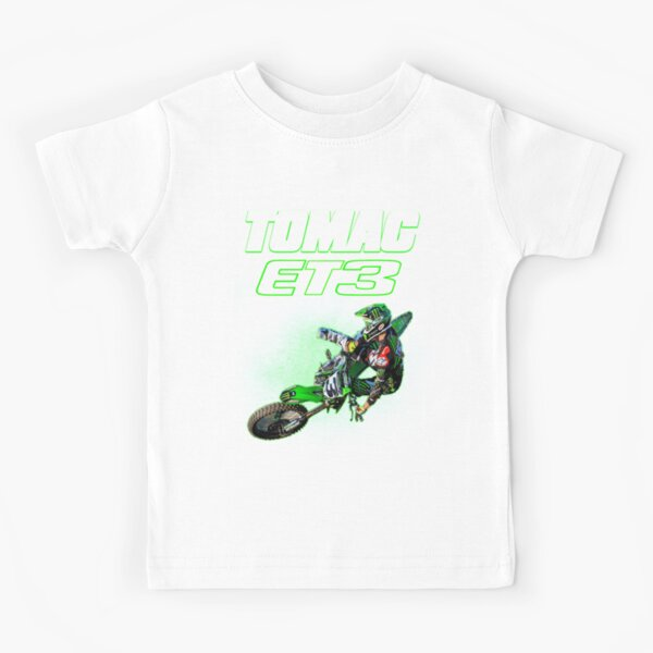 Kawasaki Sports Kinder T-Shirt schwarz Shirt kurzarm Kids NEU