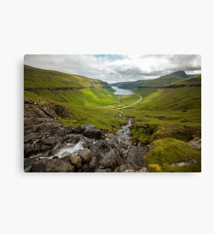 Faroe Island - The view Canvas Print
