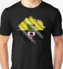 Saxony Anhalt Shirt Federal State Germany Unisex T-Shirt