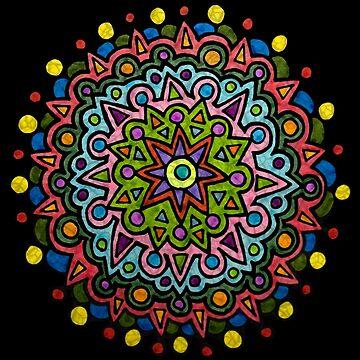 Colorful Mandala by gorff