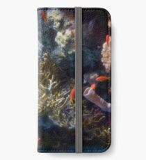 Mysterious And Beautiful Red Sea Underwater World iPhone Wallet/Case/Skin