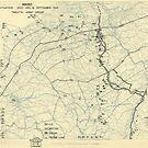 13. September 1944 Zwölfte Armeegruppensituation Karte des Zweiten Weltkrieges von allhistory