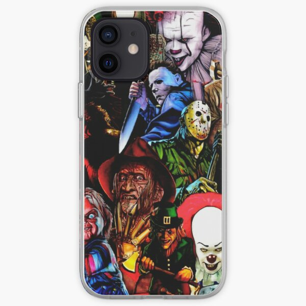 Collage Of Horror iPhone Soft Case