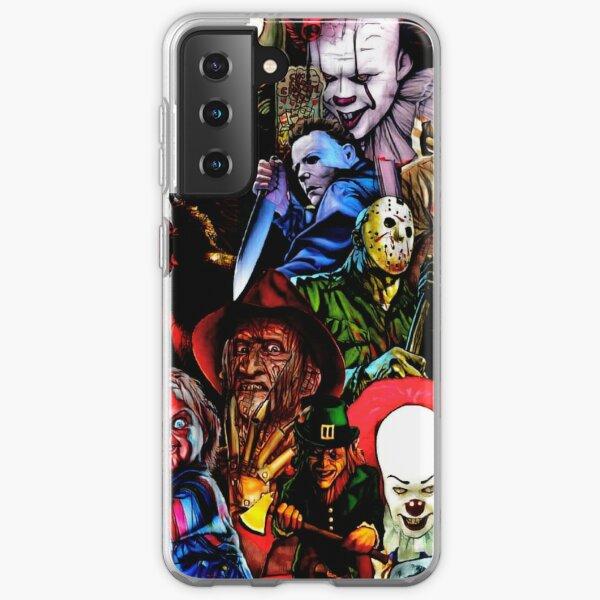 Collage Of Horror Samsung Galaxy Soft Case